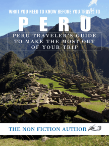 What You Need to Know Before You Travel to Peru: Peru Traveler's Guide to Make the Most Out of Your Trip
