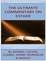 The Ultimate Commentary On Esther