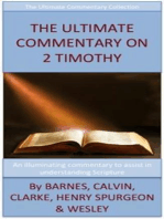 The Ultimate Commentary On 2 Timothy