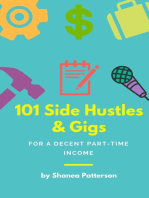 101 Side Hustles & Gigs for a Decent Part-Time Income