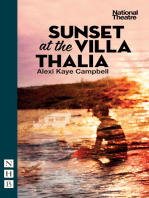 Sunset at the Villa Thalia (NHB Modern Plays)