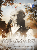 History, Manners and Customs of the Indian Nations Who Once Inhabited Pennsylvania and the Neighboring States