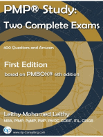 PMP® Study: Two Complete Exams