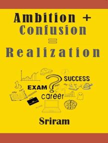 Ambition + Confusion = Realization