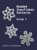 Beaded Snowflake Patterns - Group 1
