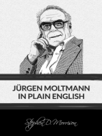 Jürgen Moltmann in Plain English