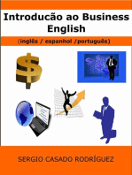 Introdução ao Business English (inglês/ espanhol / português)