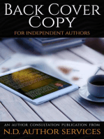 Back Cover Copy for Independent Authors