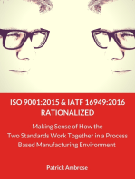 ISO 9001:2015 and IATF 16949 Rationalized