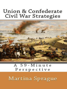Union and Confederate Civil War Strategies: A 59-Minute Perspective