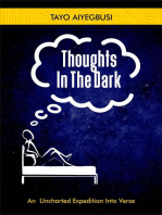 Thoughts In The Dark (An Uncharted Expedition Into Verse)