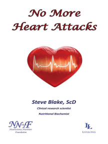 No More Heart Attacks