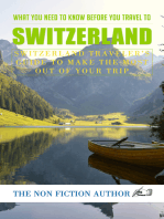 What You Need to Know Before You Travel to Switzerland