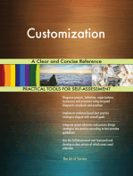 Customization A Clear and Concise Reference