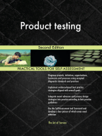 Product testing Second Edition