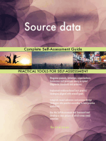 Source data Complete Self-Assessment Guide