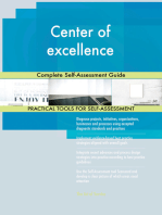 Center of excellence Complete Self-Assessment Guide