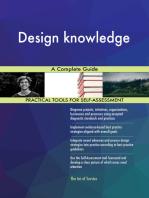 Design knowledge A Complete Guide
