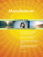 Manufacturer A Complete Guide