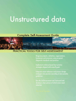 Unstructured data Complete Self-Assessment Guide