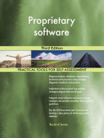 Proprietary software Third Edition