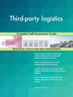 Third-party logistics Complete Self-Assessment Guide