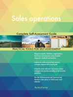 Sales operations Complete Self-Assessment Guide