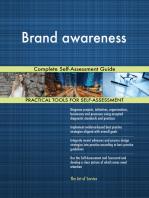 Brand awareness Complete Self-Assessment Guide