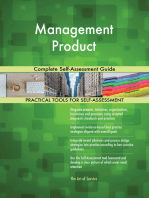 Management Product Complete Self-Assessment Guide