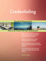 Credentialing Standard Requirements