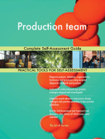 Production team Complete Self-Assessment Guide