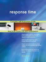 response time Complete Self-Assessment Guide