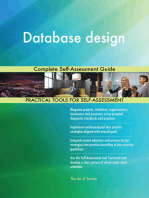 Database design Complete Self-Assessment Guide
