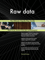 Raw data The Ultimate Step-By-Step Guide