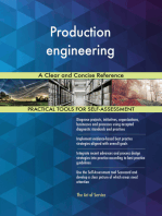 Production engineering A Clear and Concise Reference