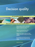 Decision quality A Complete Guide