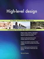 High-level design A Clear and Concise Reference