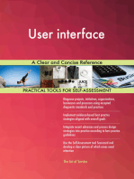 User interface A Clear and Concise Reference