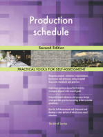 Production schedule Second Edition