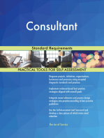 Consultant Standard Requirements