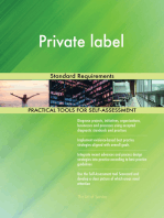 Private label Standard Requirements