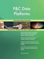 P&C Data Platforms Standard Requirements