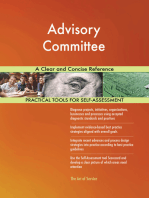 Advisory Committee A Clear and Concise Reference
