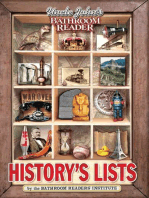 Uncle John's Bathroom Reader History's Lists