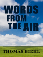 Words from the Air