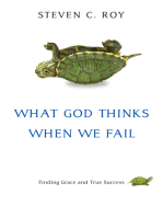 What God Thinks When We Fail