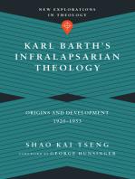 Karl Barth's Infralapsarian Theology