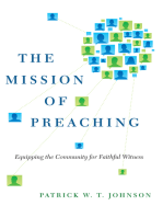 The Mission of Preaching