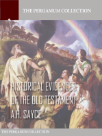 Historical Evidences of the Old Testament