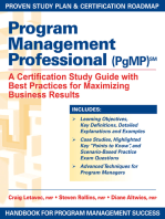 Program Management Professional (PgMP)